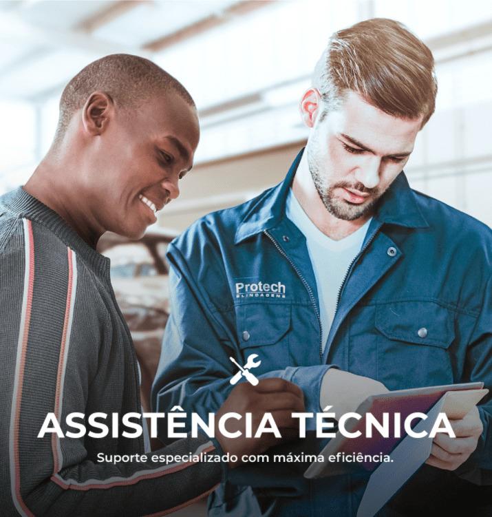 Assistencia Tecnica Carro Blindado - Protech Blindagens