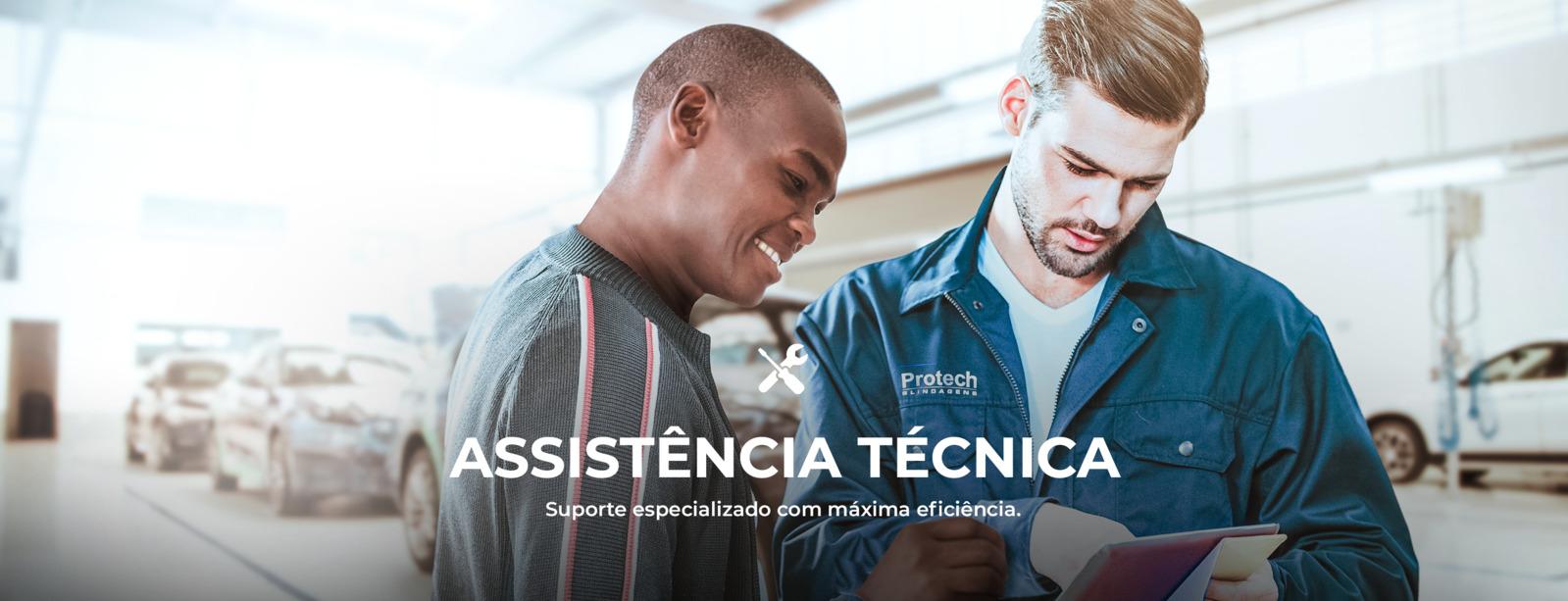 Assistencia Tecnica Banner 01 - Protech Blindagens