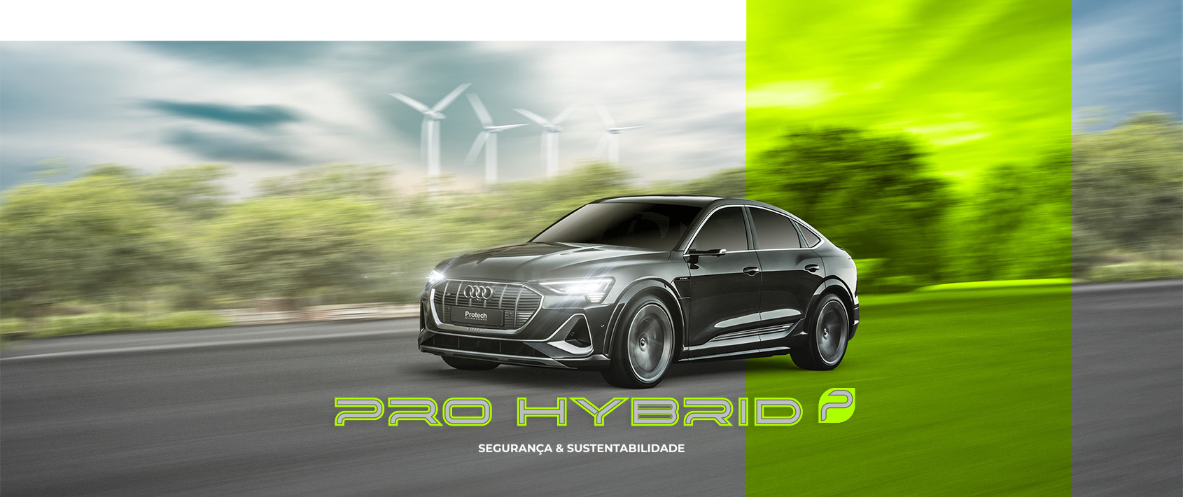 Banner Pro Hybrid Af04 - Protech Blindagens